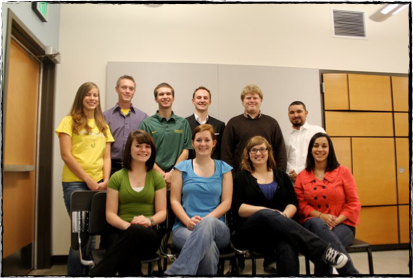 2010-11 Oregon Athletic Band Officers