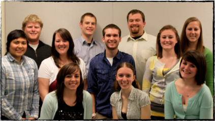 2011-12 Oregon Athletic Band Officers