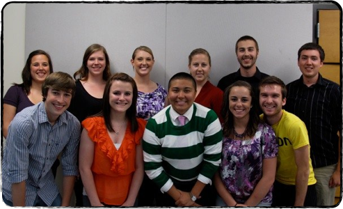 2012-13 Oregon Athletic Band Officers